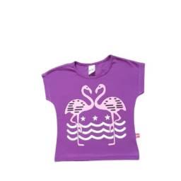 Título do anúncio: Camiseta Infantil Flamingo