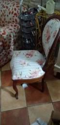 Jogo com 4 Cadeiras Coloniais