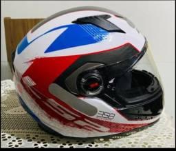 Vendo capacete LS2 praticamente zero valor 500 reais