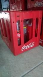 500,00...  10 caixa de coca cola retornável com vasilhame