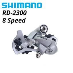 Câmbio 2300 8v e cassete 8v hg50 11/28 Shimano