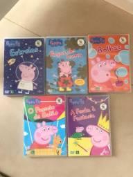 5 DVD Peppa Pig