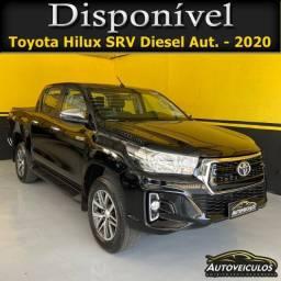 Título do anúncio: Toyota Hilux SRV 2020 - Apenas 9.000 KM