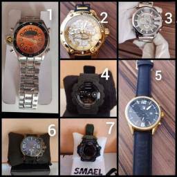 Vendo relógios de marcas diversas