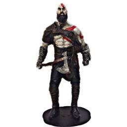 Kratos God of war Action figure colecionável mais quadro brinde