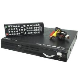 DVD Player + Karaokê + USB + RIPPING+CONTROLE KP-103/B