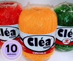 Linhas Cléa 1000m - Todas as cores - Liquidando Tudo!