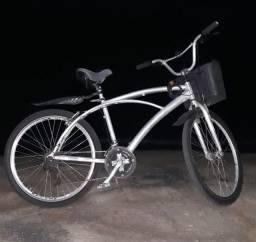 Bicicleta toda de alumínio TA PERFEITA