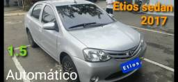 Título do anúncio: Etios Sedan X 1.5 2017 Automático