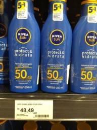 Protetor solar Nívea fator 50 hidrata