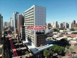 Apartamento com 1 dormitório para alugar, 41 m² por R$ 1.200,00/mês - Zona 07 - Maringá/PR