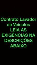 Vaga para LAVADOR DE VEICULOS.