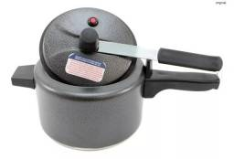 Panela De Pressão Alumínio Polido 4,5 Litro Qualidade Promoção