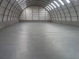 Piso de concreto polido, piso estampado