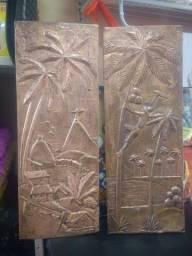 Lindos quadros de cobre