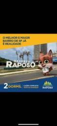 Apartamentos de dois dormitórios e vaga. Rodovia Raposo Tavares
