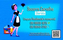 Doméstica, realizo limpeza comercial e residencial, agende a sua. Socorro Carvalho