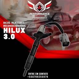 Bicos injetores Hilux com Garantia (Frete Gratis).