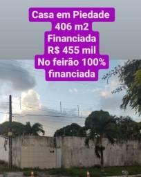 Casa em Piedade com 5 quartos, financiado pela Caixa R$ 455 mil