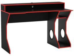 Mesa Gamer Vermelha Freemont