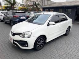 Etios Platinum sedan 2017 Automático