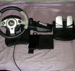 PlayStation 2 com volante