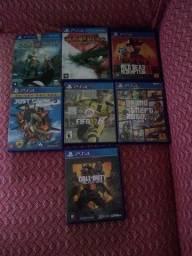 Jogos de PS4 só troca