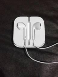 Fone de ouvido Apple Lacrado Original Earpods