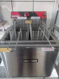 Fritadeira Eletr. De Mesa 3000w (água e óleo) - Croydon