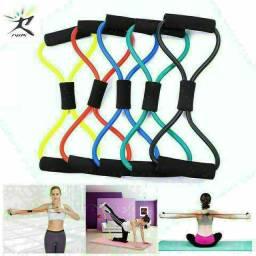 Elástico extensor fitness musculação entrega gratuita em toda baixada