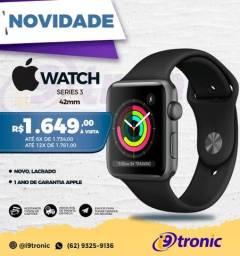 Apple Watch Series 3 (GPS) - 42 mm novo lacrado