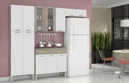 Armário de Cozinha com Balcão | Ideal para Apartamentos - Chame no WhatsApp do Anúncio