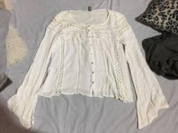Blusa branca P