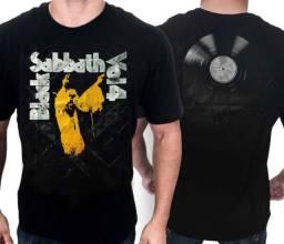 Camisas de bandas de rock - Nirvana, Black Sabbath, Misfits, Bad Religion, Queen