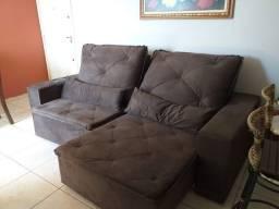 Promoção imperdível sofá retrátil de 2m30