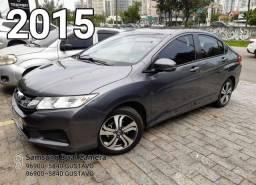 City 2015 Único dono Automático Baixa Km