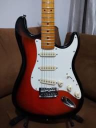 Guitarra SX sst57 em estado de nova!