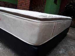 Cama Box+Colchão Queen