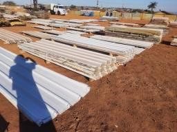 Telhas de zinco galvanizadas