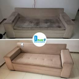 Higienização para sofá