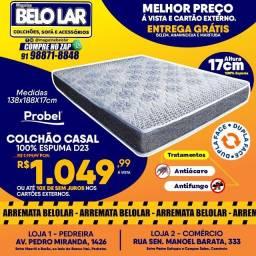 Título do anúncio: Colchão Probel Casal 100% Espuma