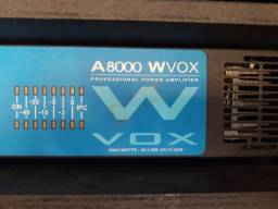 Amplificador Machine W vox A8000