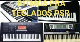 Samples & ritmos  pra teclados