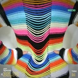 Casaquinho Arco-íris