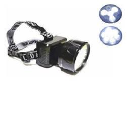 Lanterna de cabeça recarregavel 7leds ns-2503 1w 110lm novo