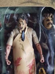 Boneco Leatherface Massacre da Serra Elétrica Edição 40 Anos