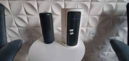 Caixa de som UE Megaboom com caixa e carregador