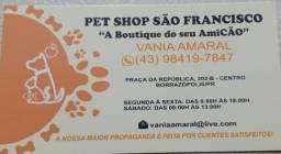Vendo por 13.800  loja de Pet Shop  completa motivo mudança de estado.