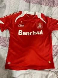 Camisa internacional oficial vermelha