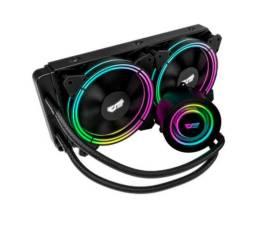 Watercooler DarkFlash Symphony TR240 RGB - Preto - Loja Fgtec Informática